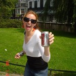 "Here I am in Amsterdam in 2007, drinking a ""Coca-Cola Light,"" which is the non-US version of Diet Coke."