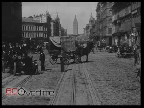 San Francisco 1906, video screen shot