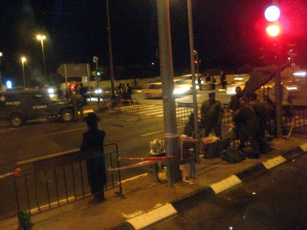 Check point to enter Palestine. Israeli citizens are not allowed to enter. It is manned by the Israeli military.
