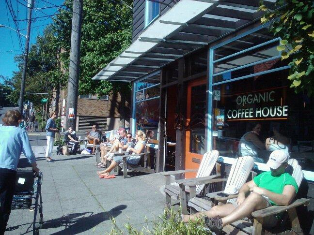 Queen Anne coffee shop